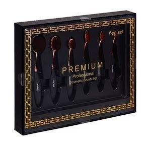 Oval Makeup Brush giftset make up brushes premium
